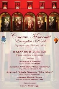 "Concerto ""Maternità Evangelisti e Profeti"" – Piazza Curtatone e Montanara a Pontedera"