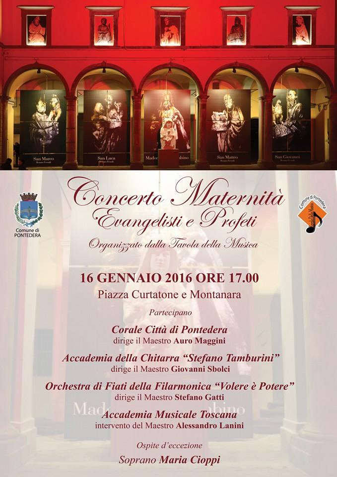 CONCERTO MATERNITA 16 GENNAIO 2016