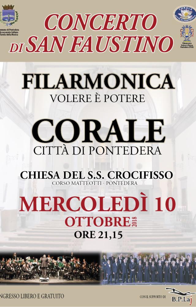 Concerto S. Faustino 10 ottobre 2018