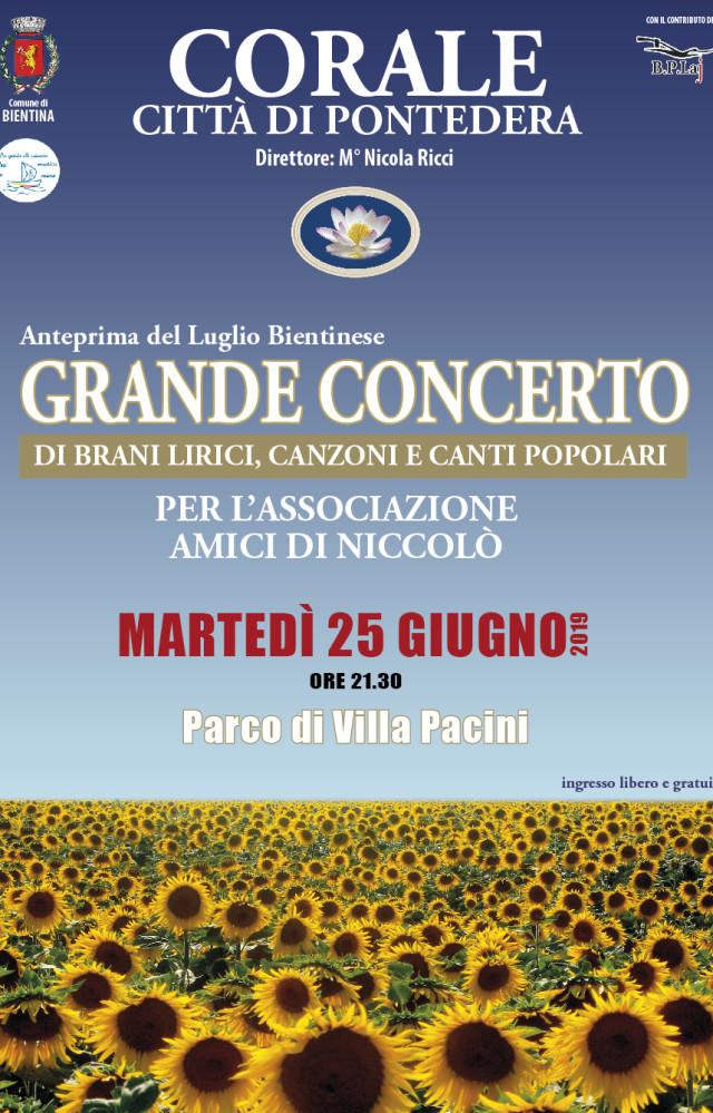 Grande concerto Bientina